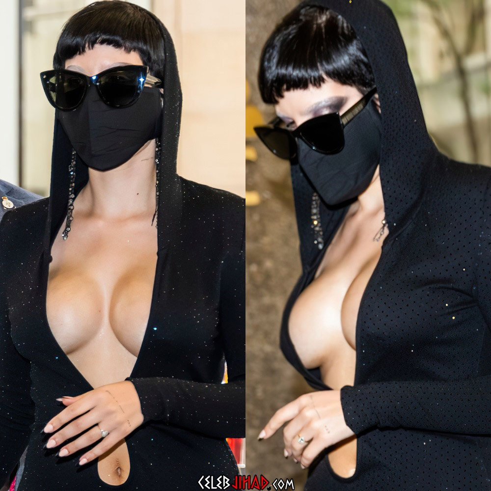 Halsey boobs